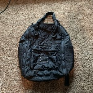 Marc Jacobs Quilted Backpack Bookbag USED